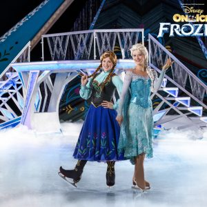 Frozen on ice
