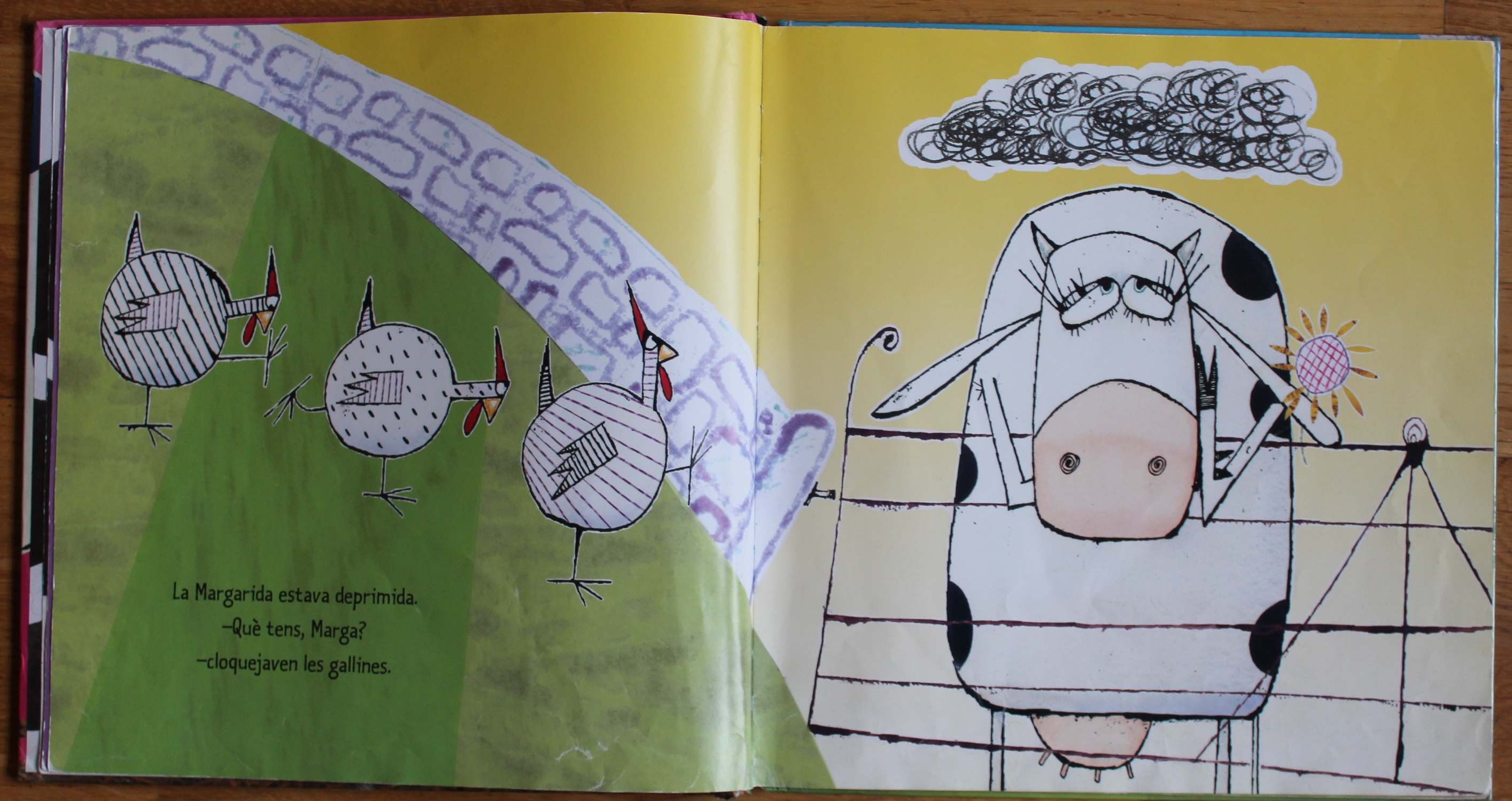 La vaca que puso un huevo