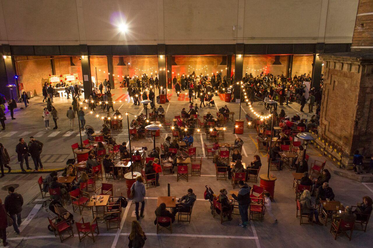 mercat de nadal del llibre