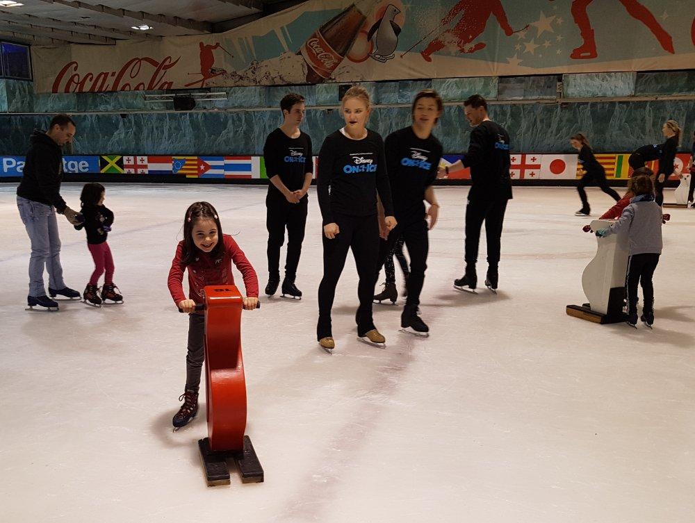 patinar hielo barcelona