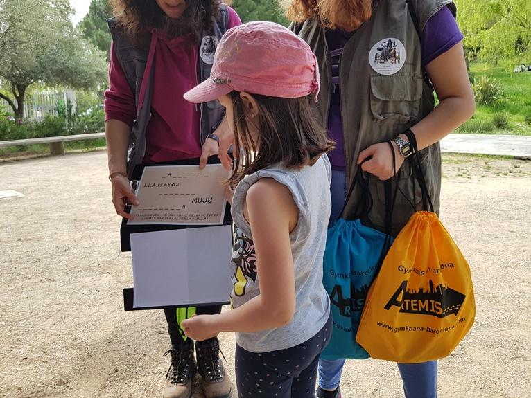 gincana Barcelona niños